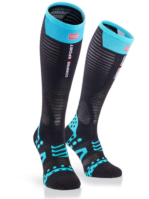 Compressport Ultralight Racing - Calcetines Running - negro